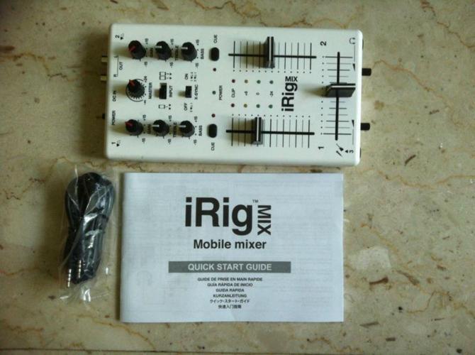WTS/WTT: IRIG iMIX interface for ios gadget (irig HD,