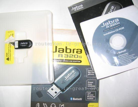 The jabra a320s bluetooth usb adapter allows instant bluetooth stereo connectivity for your pc