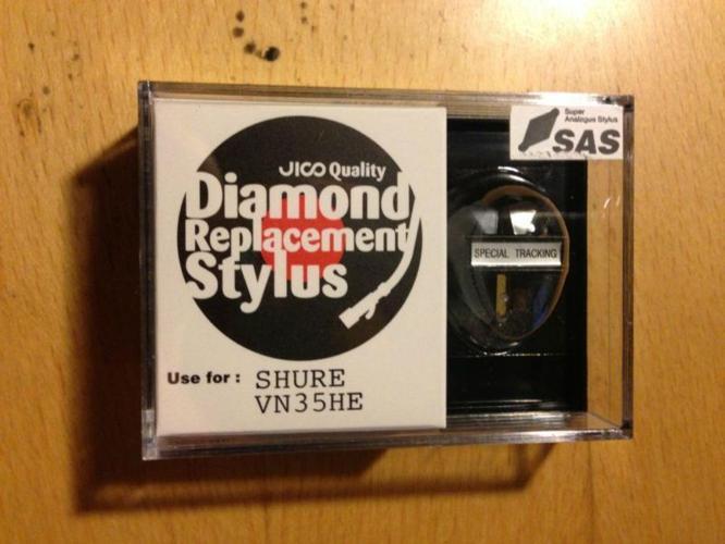 JICO SAS DIAMOND STYLUS FOR SHURE V15 TYPE III