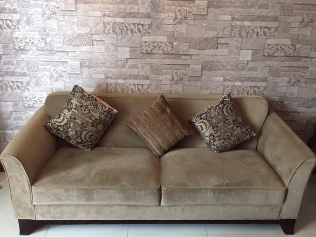 John Erdos Teakwood Sofa set in impeccable condition