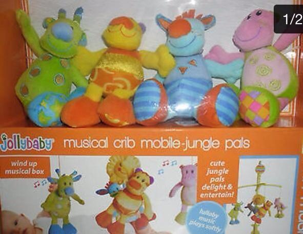 Jollybaby Jungle Pals Musical Mobile