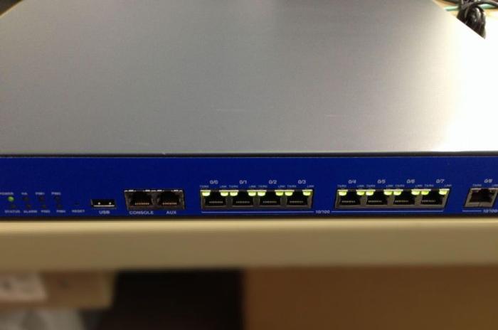 Juniper SSG140 Firewall VPN