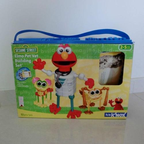 K'nex Elmo Pet Vet Building Set