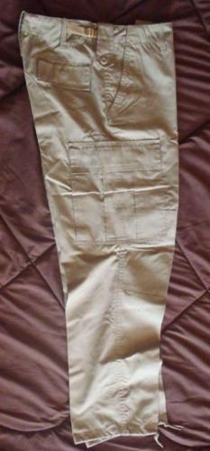 Kaki Cargo / Work Pants for Hiking, Camping, Work,