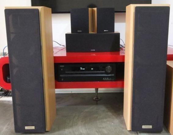 Kenwood speakers LS-V320-W (2-fronts, 2-sorrounds, 1