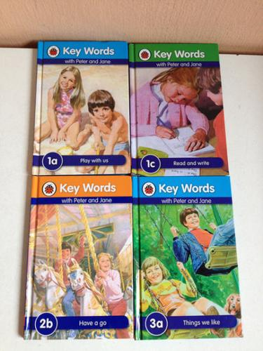 Key Words with Peter and Jane - $3 per book