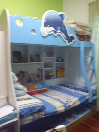 KID'S 3 LEVEL BUNK BED VERY GOOD CONDITION