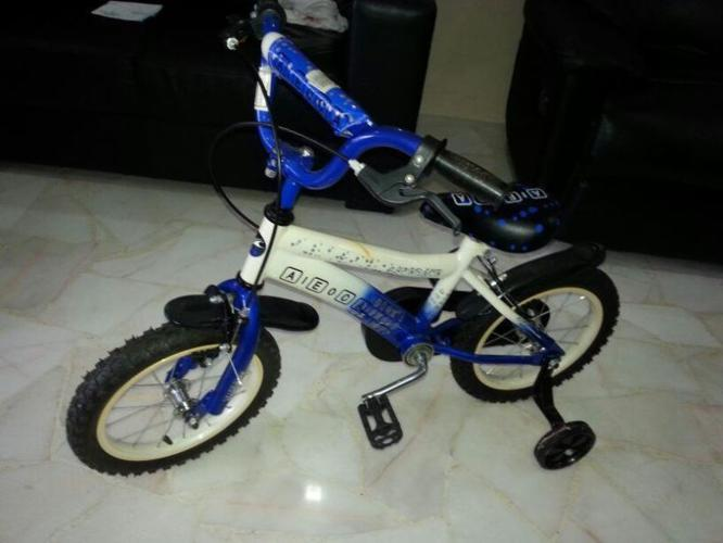 Kids bicycle only used 2-3 times is for sale.
