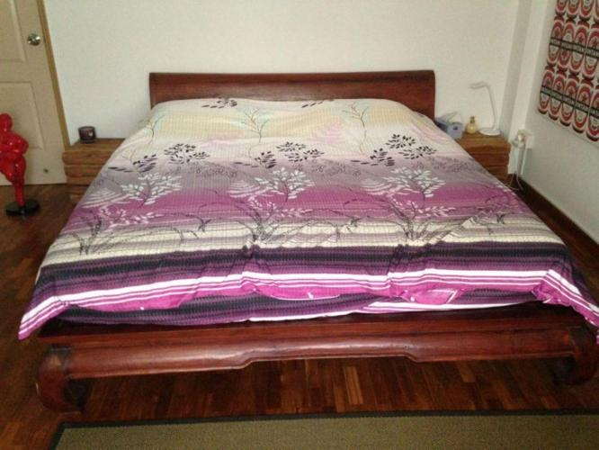 King Size Teak Wood bed (Balinese Style)