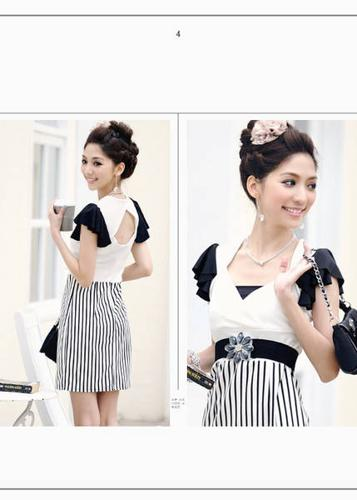 Korea Fashion Dress white
