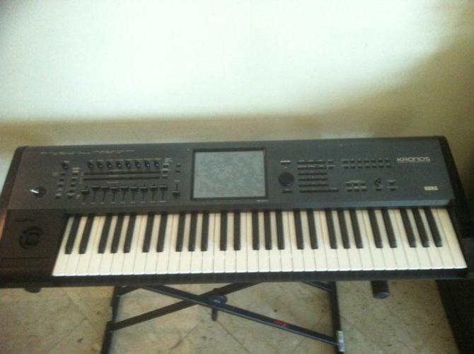 FS: Korg Kronos 61 with KRK Rokit 5 Monitor and Xstand