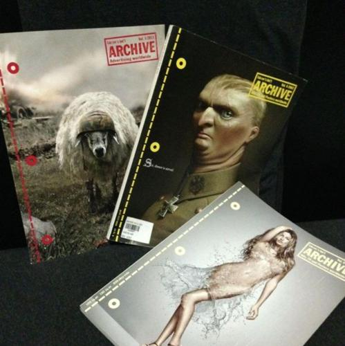 Lürzer's Archive magazines (back issues)