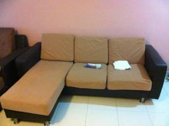 L sofa with coffee table for sale