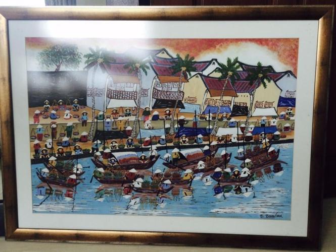 Landscape framed picture for sale