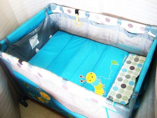 ~~~ LaTiDo Portable DouBle Deck Baby Cot / CradLe $48