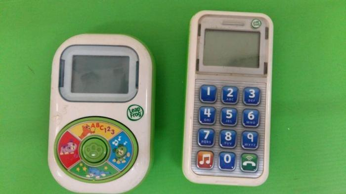 Leapfrog music player & smart phone