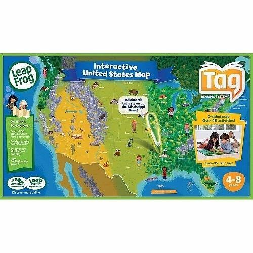 LeapFrog Tag Maps: Interactive USA Map for Sale in Meyer ...