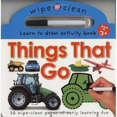 Learn to Draw - Things That Go (Wipe Clean Activity
