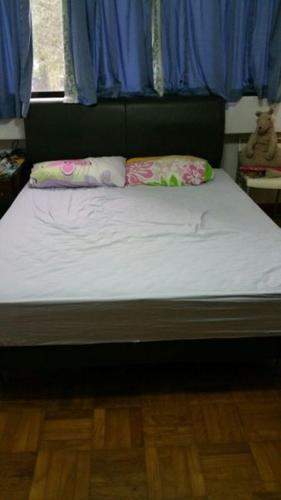 Leather Queen-Size Bed