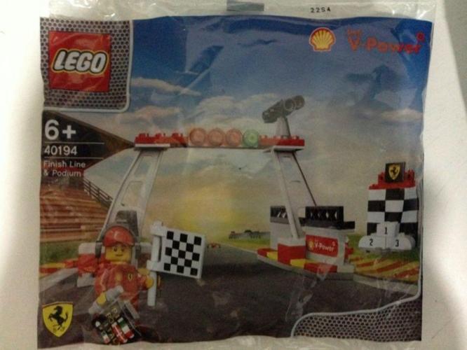LEGO 40194 Finish Line & Podium from Shell V-Power