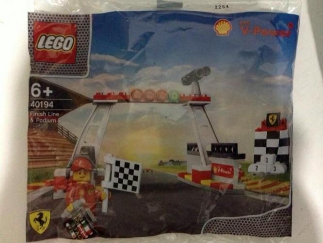 LEGO 40194 Finish Line & Podium Shell V-Power