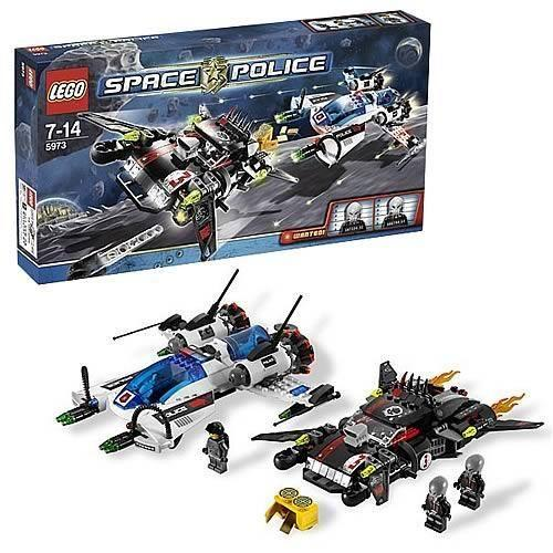 LEGO 5973 Hyperspeed Pursuit Space Police