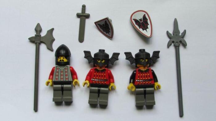 Lego Minifigure - Fright Knights