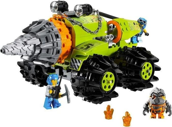 LEGO Power Miners 8960 Thunder Driller & 8956 Stone