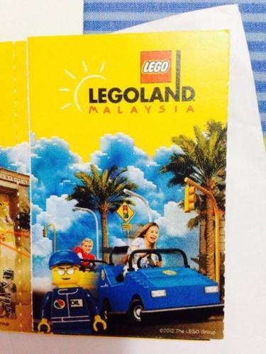 Legoland Malaysia Tickets for sale
