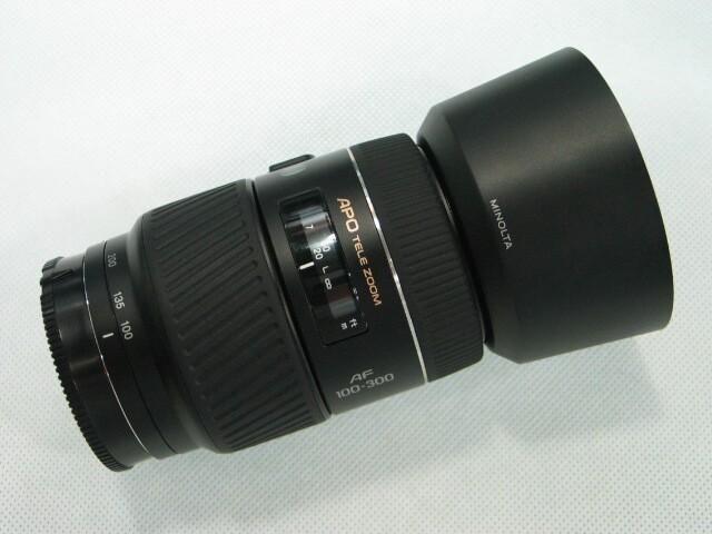 WTSell: Lens - Minolta 100-300AF APO