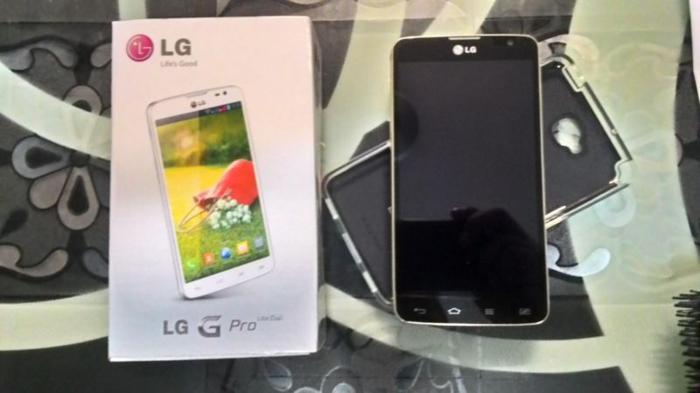 LG Pro Lite (Dual Sim) Gold Colour For Sale
