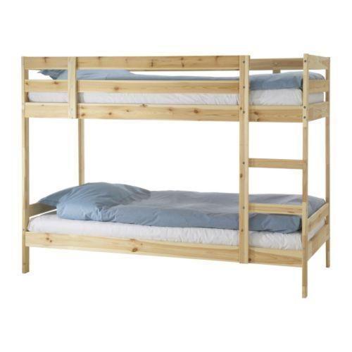 [Lightly Used] MYDAL Bunk Bed Frame - IKEA