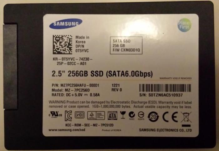 LIKE NEW Samsung 2.5