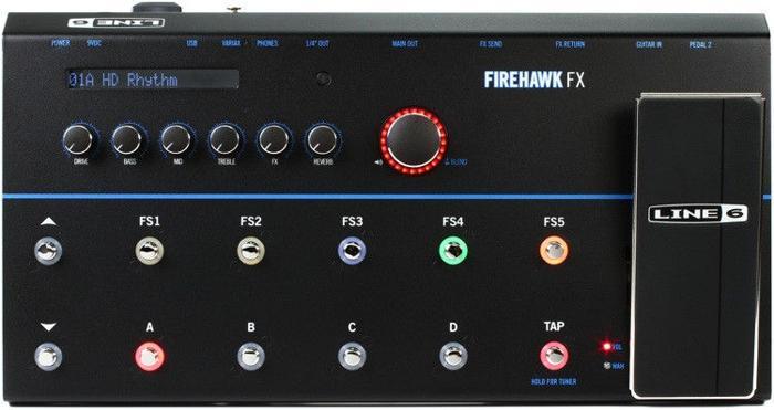 Line 6 Firehawk FX Multi-Effects Pedal + pod bag 50%