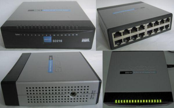 Linksys 16-port Network Switch (standard 100mbps) for Sale