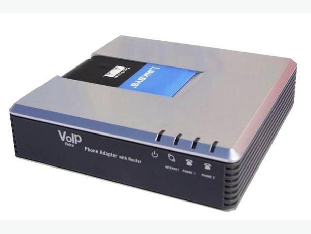 Linksys VoIP phone adapter with router SPA2102-R