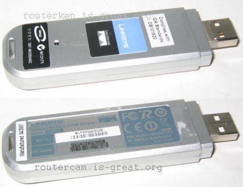 Linksys Compact Wireless G USB Adapter WUSB54GC