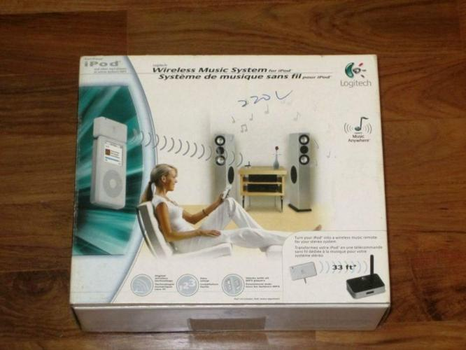 Logitech Wireless Music System for iPod/MP3 players