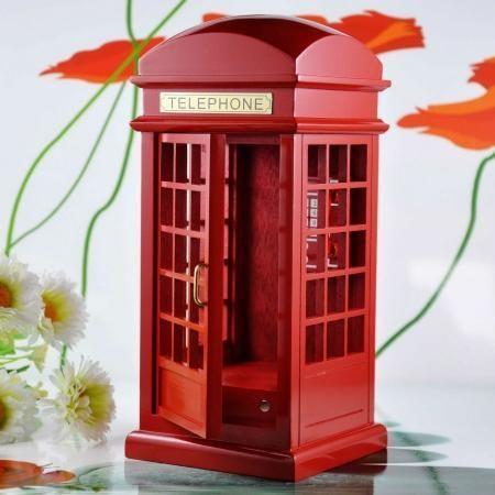 London phone booth music box for Sale in Yishun Ring Road