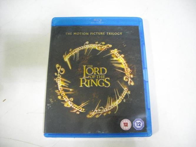 Lord of the Rings Trilogy Blu Ray Set