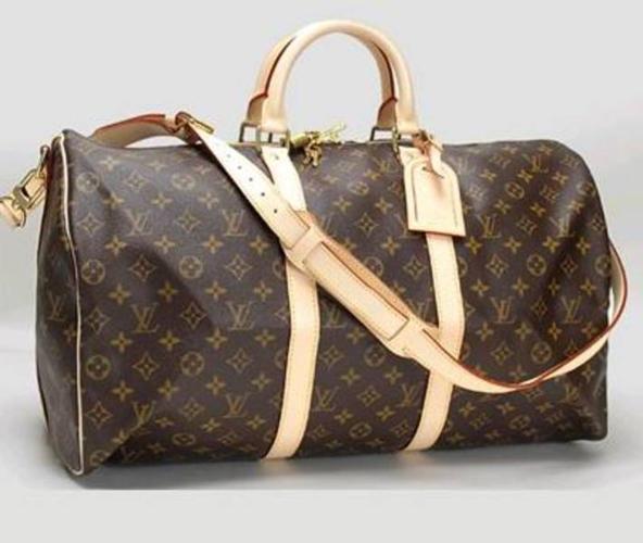 40eb0e25884 Louis Vuitton LV Keepall 60 Monogram leather luggage bag. $150! for ...