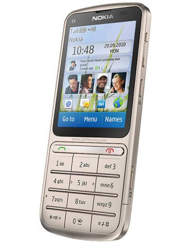 Lowest Price for Nokia C3-01 Touch and Type