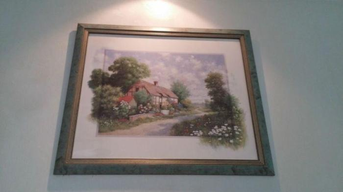 LOWEST PRICE IN TOWN: FRAMED PICTURE OF MY COUNTRYSIDE