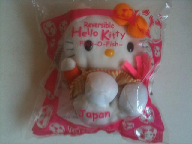 MacDonald Reversible Hello Kitty Filet-O-Fish(Japan)