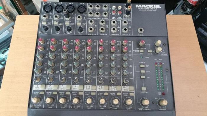 Mackie 12ch mixer
