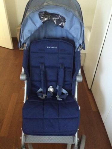 Maclaren xlr stroller blue