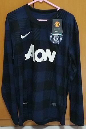 Man Utd 13/14 Away Jersey Long Sleeves