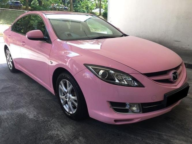 MAZDA 6 2.0A PINK $210 FROM 01/06/2018 - 04/06/2018 (P