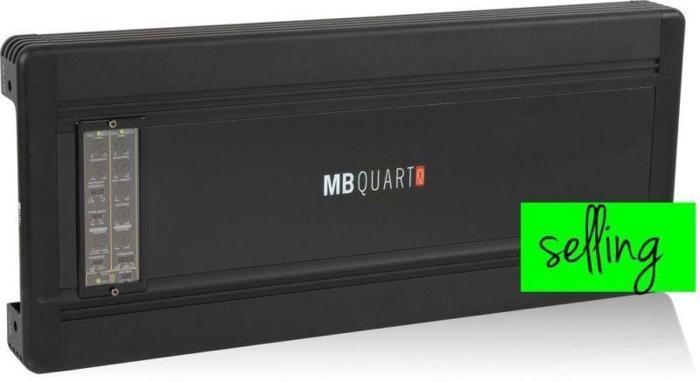 MB Quart Q4.150 880W RMS Q-Series 4-Channel Amplifier