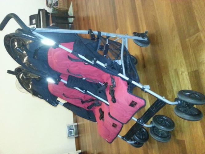 McLaren Twin traveller double stroller Cheap